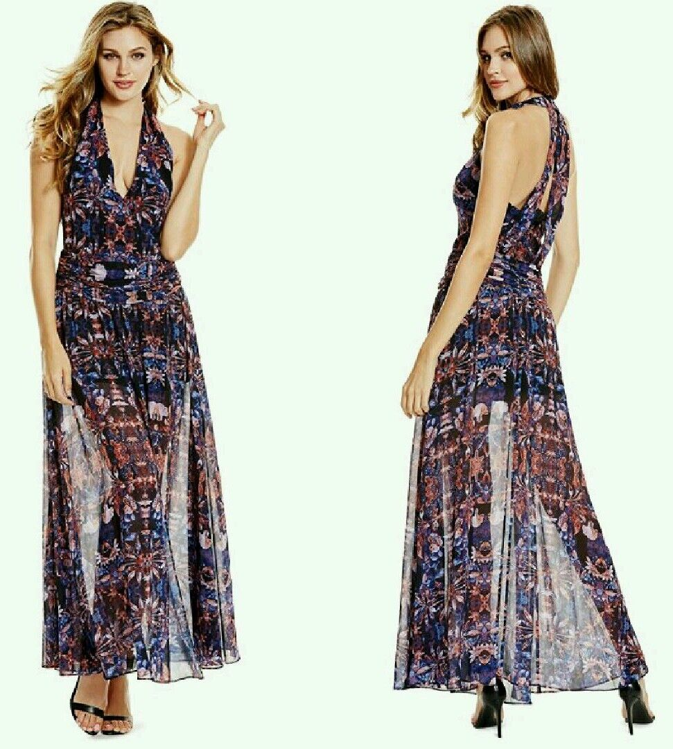 GUESS BY MARCIANO BOHEMIANS MAXI DRESS
