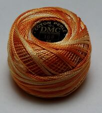DMC Pearl Cotton Ball 10 gram Size 8 Color #104 variegated yellow G