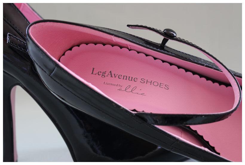 Leg Avenue Pumps Gr. Gr. Gr. 40 High Heels Plateaupumps Lackpumps schwarz ( 2090) da5d7b