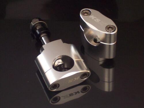 Manubrio Registrazione MANUBRIO KSX anbaukit 28,6 ARGENTO 40mm H