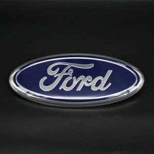 Image Is Loading Inch Blue For Ford F F Front Grille