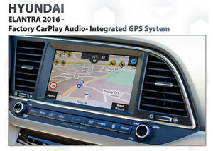 Details about Hyundai Elantra 2016+ Built-in GPS mobile free Navigation  latest Map install kit