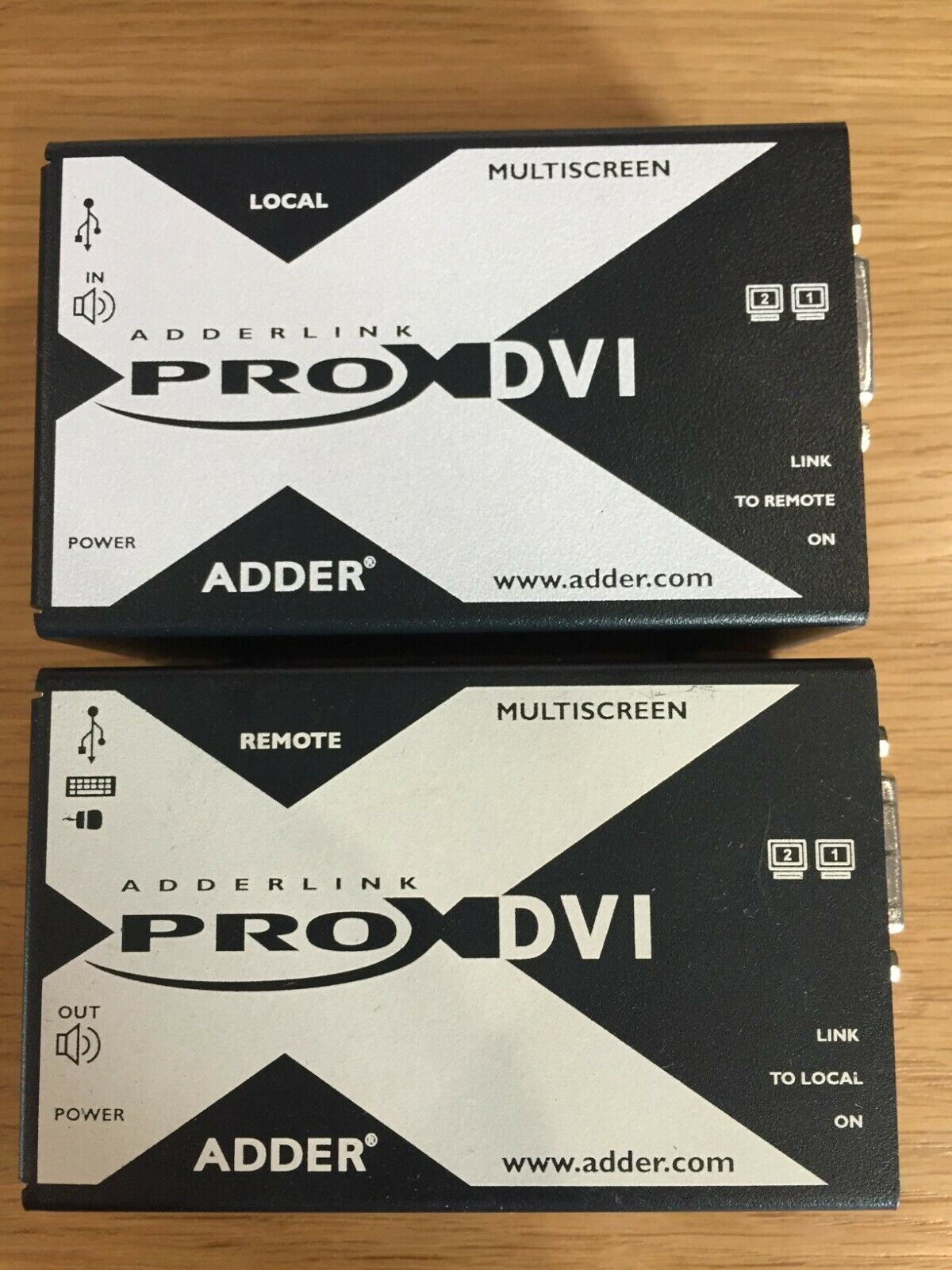 The ADDERLink X-DVI PRO-MS allows users to extend control of any computer.
