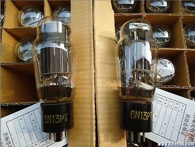 NEW Shuguang Chinese 6N13P-T 6N13P 6H13C 6AS7G Vacuum Tube 2PCS