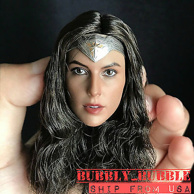 <b>1/6 Gal Gadot</b> Head Sculpt For Wonder Woman For PHICEN Hot ...