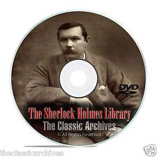 300+ Sherlock Holmes Audiobooks, and OTR Radio Drama Shows DVD E84