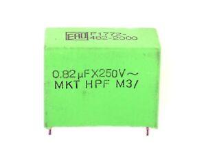 1x 0,82µF MKT HPF 250V ERO F1772 482-2000 (820nF, 0,82µFX250V~,Kondensator)U336 - Mertendorf, Deutschland - 1x 0,82µF MKT HPF 250V ERO F1772 482-2000 (820nF, 0,82µFX250V~,Kondensator)U336 - Mertendorf, Deutschland