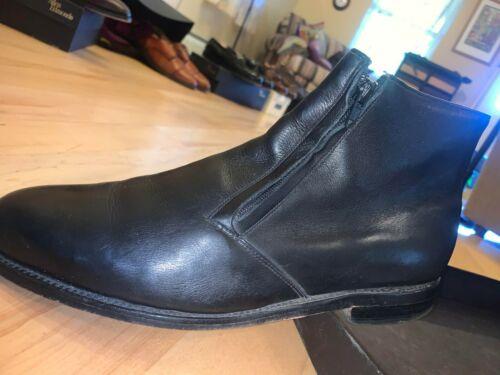Allen Edmons Mens leather dress boots, size 11.5 D
