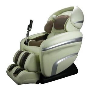Fantastic Details About Osaki Os 7200Cr Quad Massage Chair Zero Gravity Recliner Foot Rollers Cream Dailytribune Chair Design For Home Dailytribuneorg