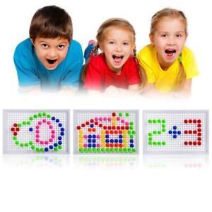 Kinder-Puzzle-Peg-Board-96-Pegs-Fruehe-Lernspielzeug-Kreative-Kombination-T3P1