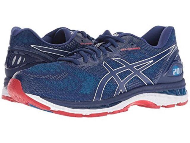 ASICS T800n 400 GEL Nimbus 20 Blue Print Men's Running Shoes Size 11 US
