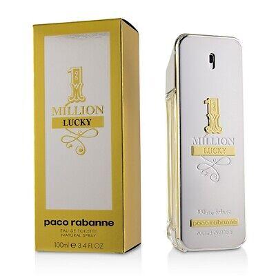 Paco Rabanne un millón de suerte Edt Spray 100ml para Hombre Perfume | eBay