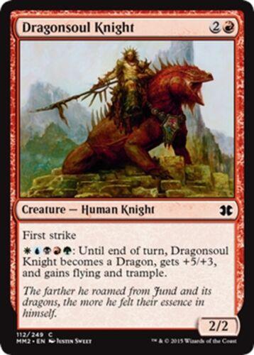 NM//M MTG Magic - Modern Masters 2015 Dragonsoul Knight FOIL C