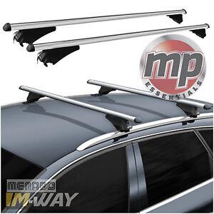 M Way Lockable Aluminium Car Roof Rack Flush Rail Bars For