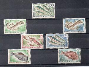 Congo-Fauna-Peces-Valores-del-ano-1961-64-DO-593
