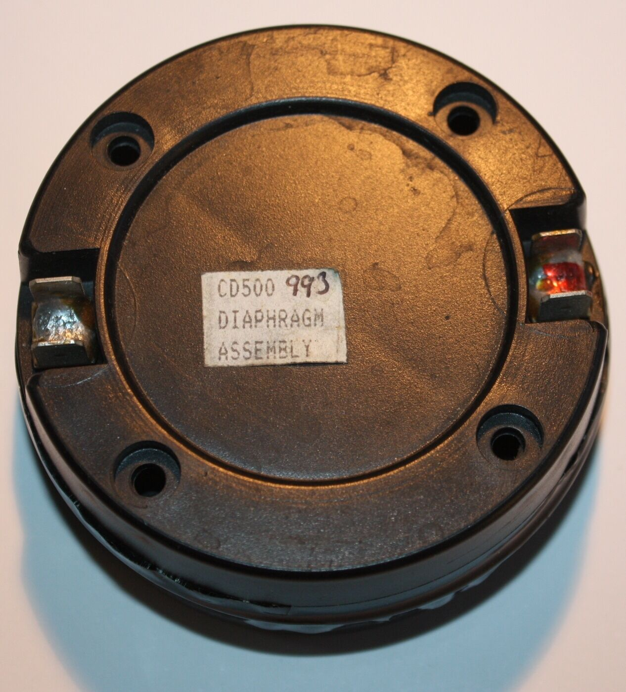 HH Audio Driver Diaphragm Assembly CD500 993