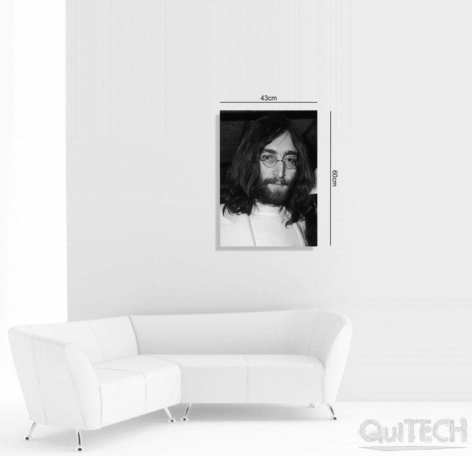 John Lennon Lennon Lennon - 11 - Quadro stampa su Tela Pelle Canvas Dipinto Arte Moderna c27226