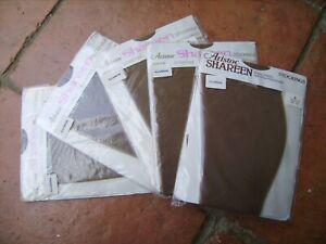 Aristoc Shareen Bas Sans Couture Cinq Paires Illusion 8 1/2 à 9-afficher Le Titre D'origine Les Consommateurs D'Abord