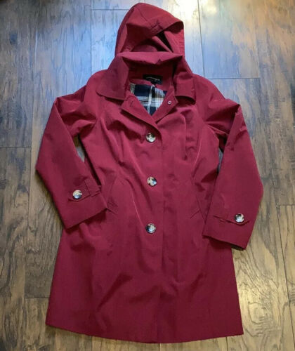 London Fog Red Trench Coat - image 1
