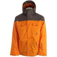 New 2014 DC Mens Servo Snowboard Jacket Large Autumn Glory