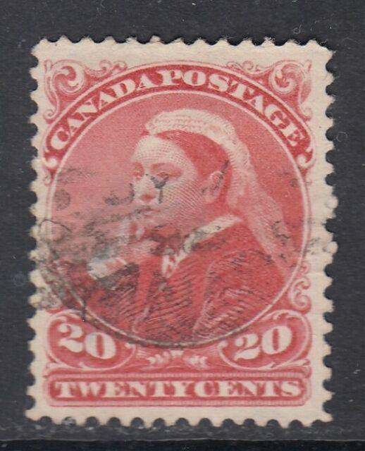 Canada Scott #46  20 cent vermilion