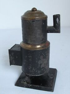Antique-Sales-Man-Wood-Burning-Sample-Stove-Tin-Tole-and-Brass-19th-c