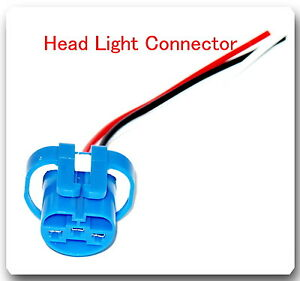 Head-Light-Socket-Pigtail-Connector-Fits-Ford-Lincoln-Mercury-Chevrolet-Dodge-amp
