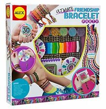 NEW ALEX Toys Do it Yourself Wear Ultimate Friendship Bracelet Party Kit