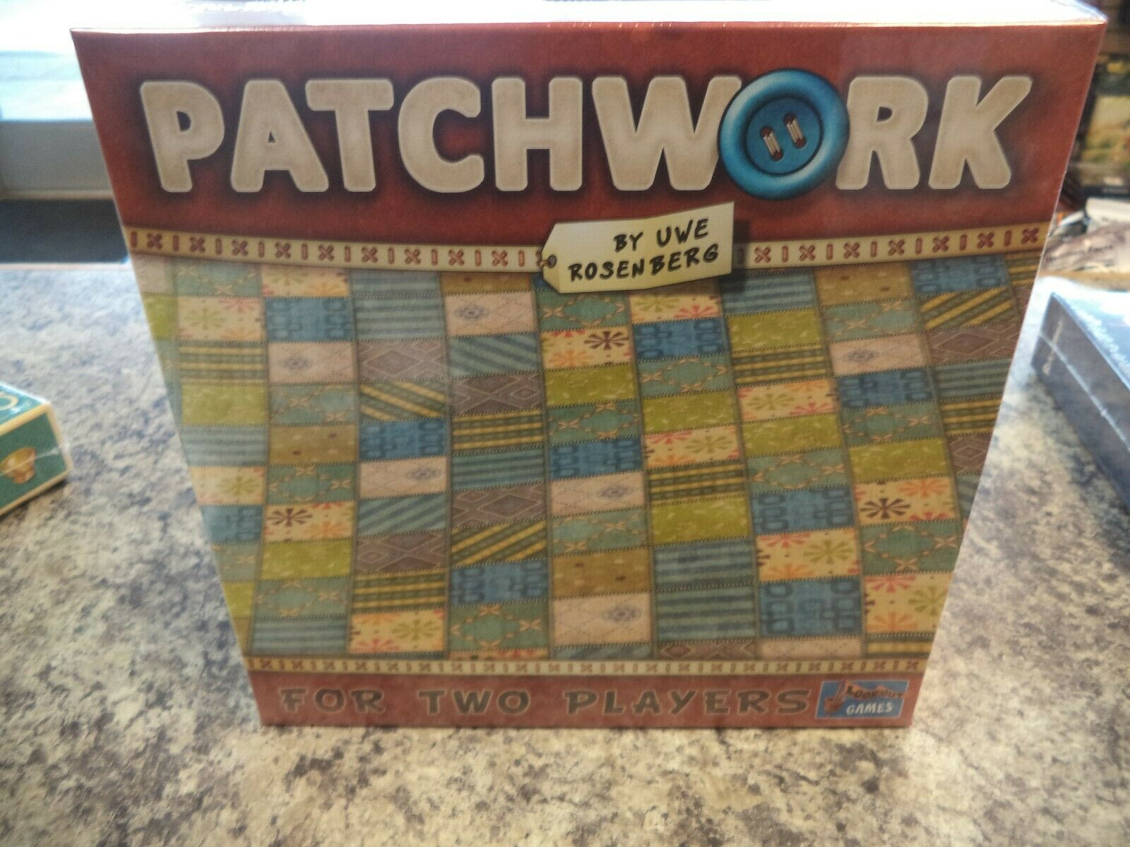 Patchwork - Lookout Games Uwe pinknberg Board Game New