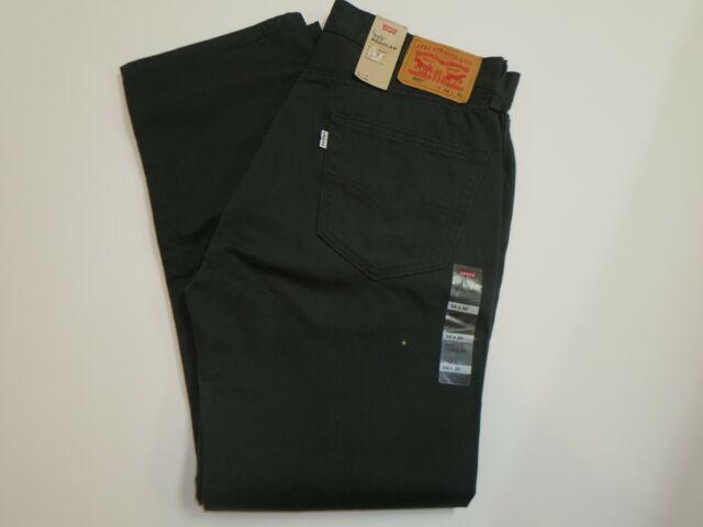 e9ec51a5e9d Levi's Men's 505 Regular Fit Jean, Graphite, 30Wx30L for sale online ...