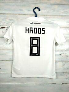 Kroos Germany jersey 2018 2019 Youth 9-10 y Shirt Adidas Football Soccer BQ8460