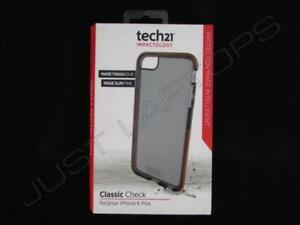 Nuevo Tech21 Clásico Cuadros Funda para Teléfono Ahumada Apple IPHONE 6 Plus
