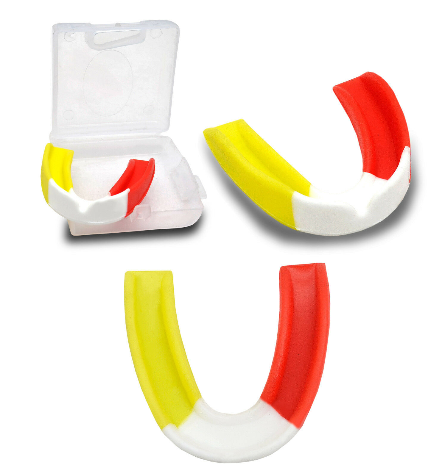 Gum Shield Mouth Protège SENIOR COMBAT JUNIOR BOXE COMBAT SENIOR RUGBY arts martiaux HOCKEY b1fec6
