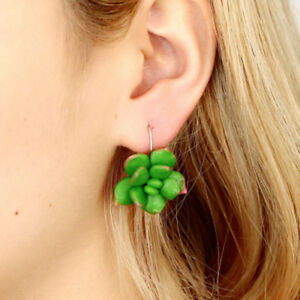 Hoop-Earrings-Elegant-Succulent-Plants-Shape-For-Women-Soft-Clay-Jewelry-Gifts