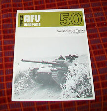 AFV  PROFILE 50 SWISS BATTLE TANKS