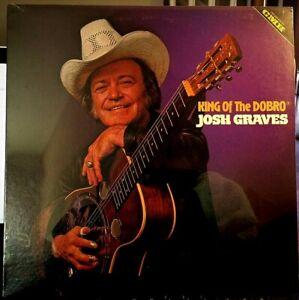 Sealed-JOSH-GRAVES-LP-King-Of-The-Dobro-CMH-6252-1980