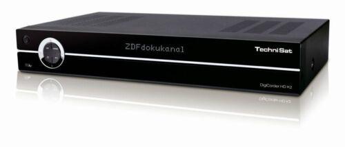 TechniSat DigiCorder HD K2 500 GB Festplatten-Recorder Twin Kabel Receiver