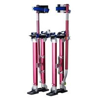 "Professional 18""-30"" Red Drywall Stilts Highest Quality By Pentagon Tool Tools and Accessories"
