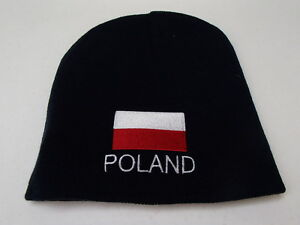 b68dbfcd6f3 Polish poland flag knit beanie hat embroidered ebay jpg 300x225 Poland hat
