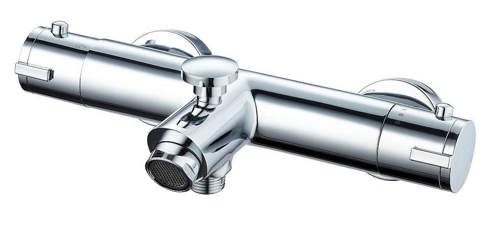 Thermostat Wannen Armatur Mischbatterie Dusche und Bad mit Umsteller