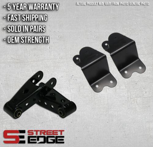 "Street Edge 90-94 Chevy Silverado 454SS 4/"" Rear Shackle /& Hanger Kit"