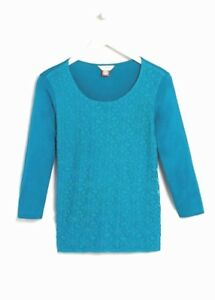 0e2ef9ef NEW 2019 Falmer Heritage Size 14 Long Sleeve T Shirt TOP Teal Lace ...