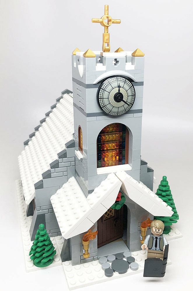 Constructibles Winter Village Church - LEGO® Parts & Instructions Kit