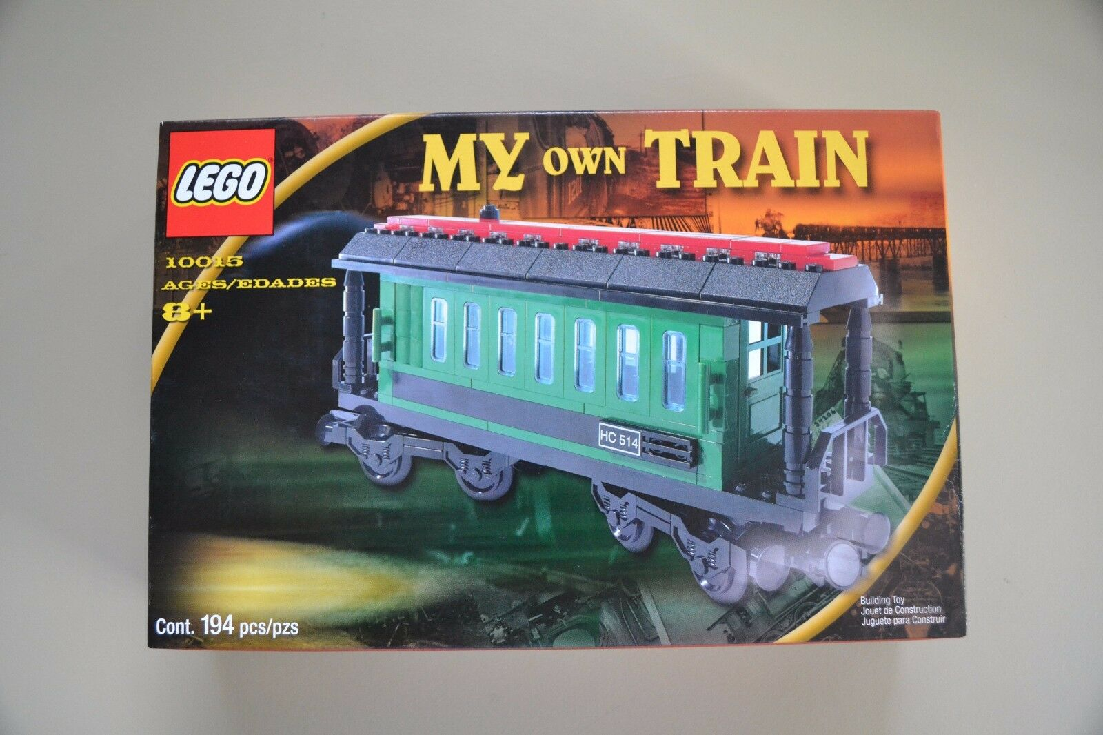 LEGO  My Own Train 10015  New Sealed .
