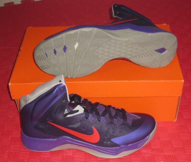 new products 856a4 93b41 ... buy nike zoom hyperquickness basketball shoes sz 11.5 nib purple red  grey 599519 500 225e3 db2fa