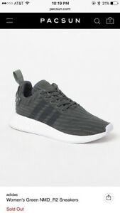 Image is loading Adidas-NMD-R2-Pacsun-Womens-9-Mens-7 739c9a787d