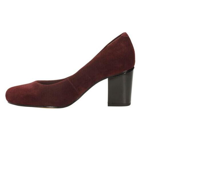 a80da76406cecd ... New clarks * aldwych park bordeaux bordeaux bordeaux daim ** femmes  cour chaussures talon moyen ...