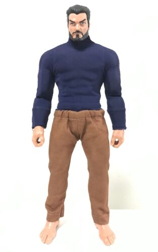 Marvel Legends Body SU-KHAKI-M-BN Brown khaki pants for Mezco One:12 Punisher