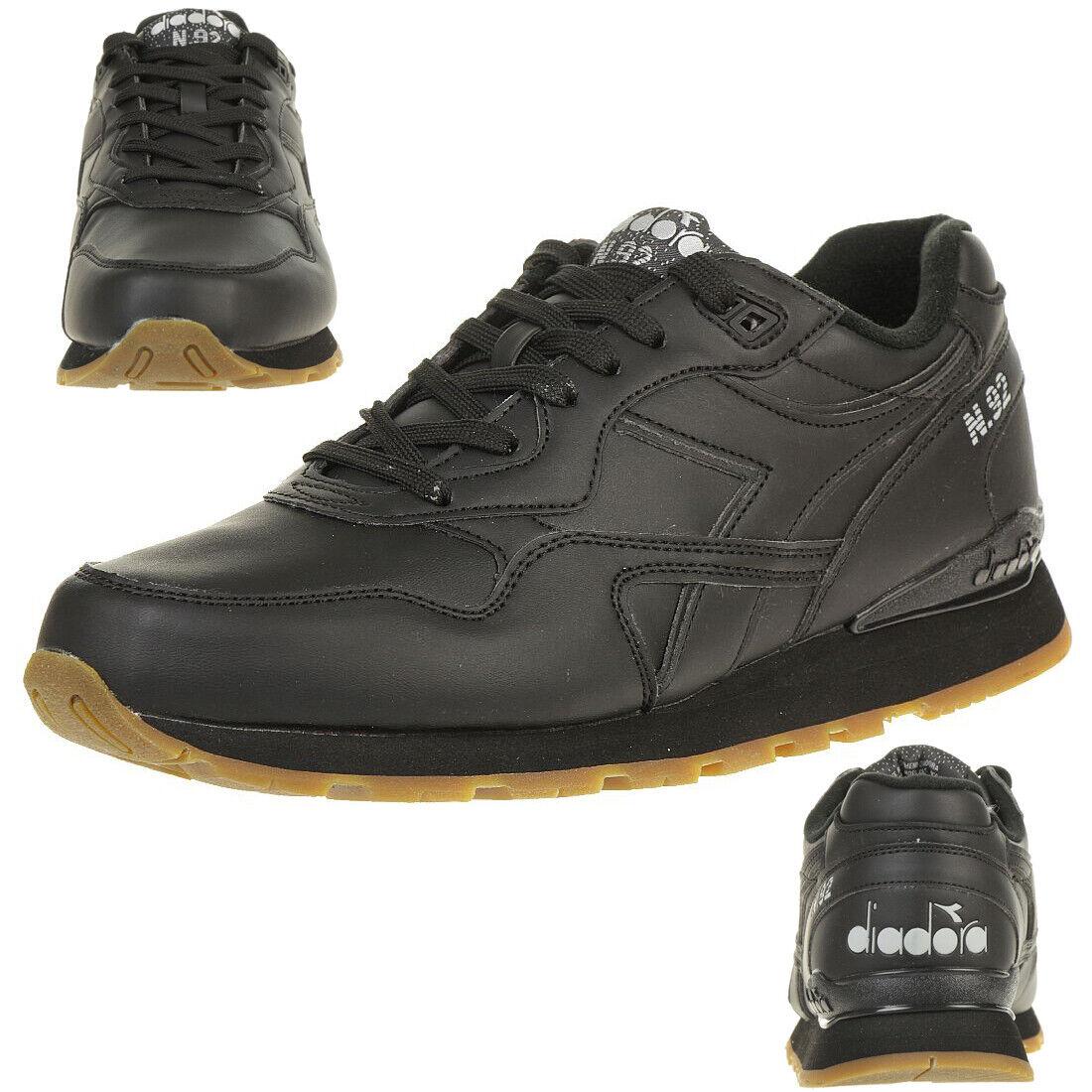 Diadora N.92 L Unisex Sneaker Turnschuh black