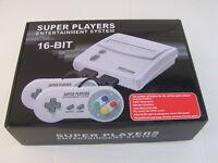 SNES Super Nintendo compatible console ~2 PADS~MULTI REGION~50/60hz Switch~NEW